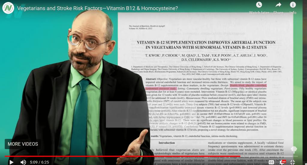 Vitamin B-12 deficiency and stroke risk